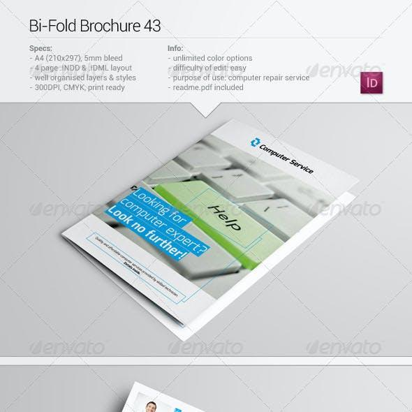 Bi-Fold Brochure 43