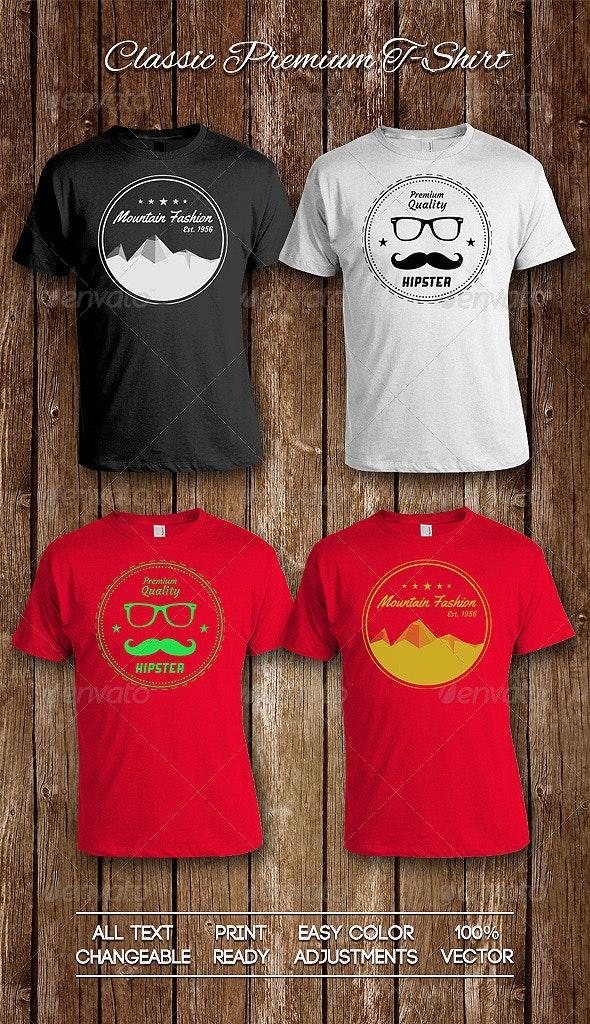 Classic Premium T-Shirt - T-Shirts