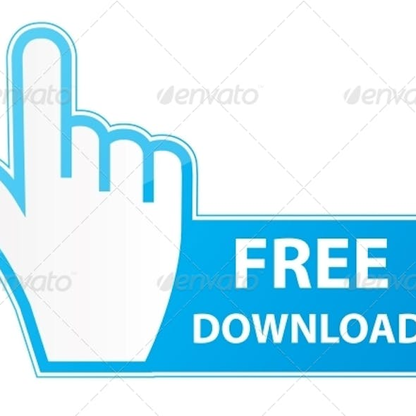 Mouse Hand Cursor on Free Download Button
