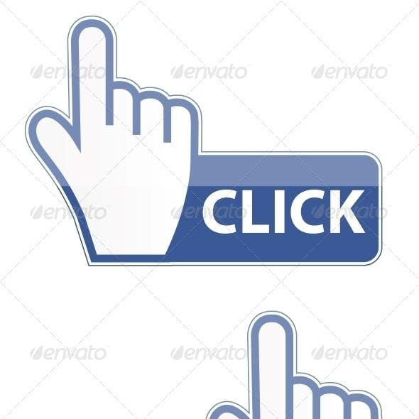 Mouse Hand Cursor Click Button