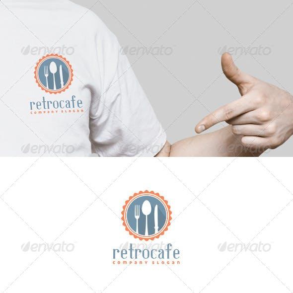 Retro Cafe Logo