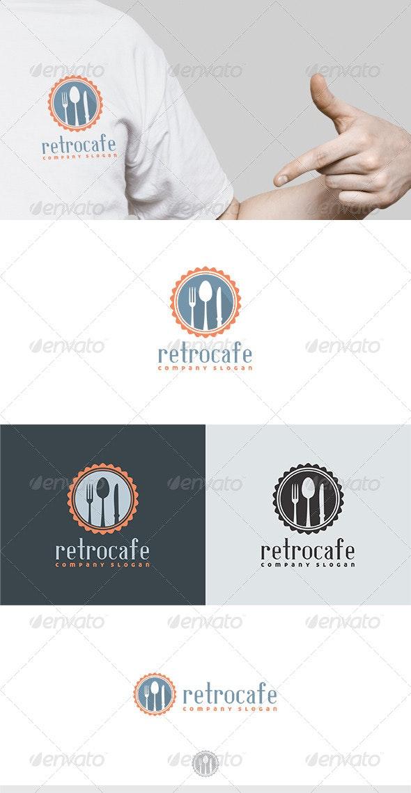 Retro Cafe Logo - Food Logo Templates
