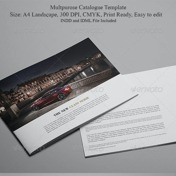 Multipurpose Catalogue Template
