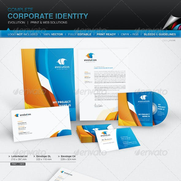 Corporate Identity - Evolution