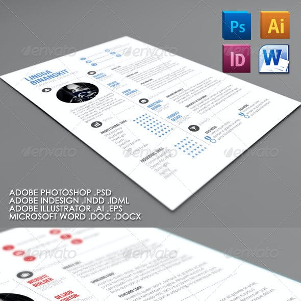 Sewon Clean Resume Template