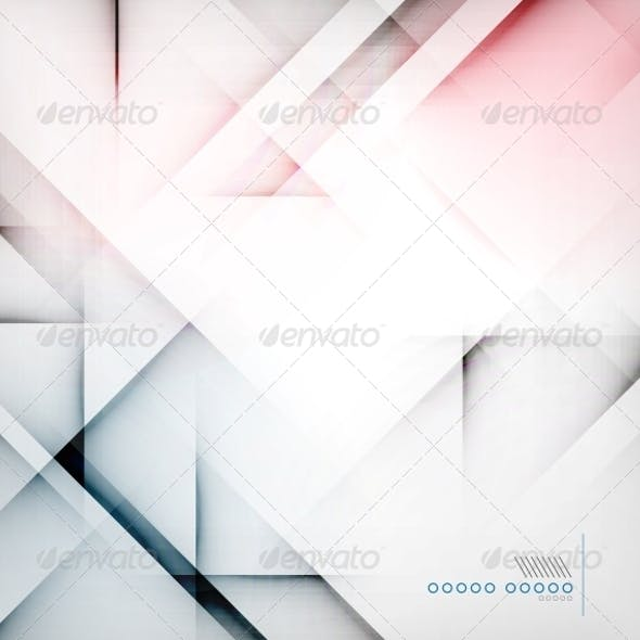 Geometric Diamond Shape Abstract Background