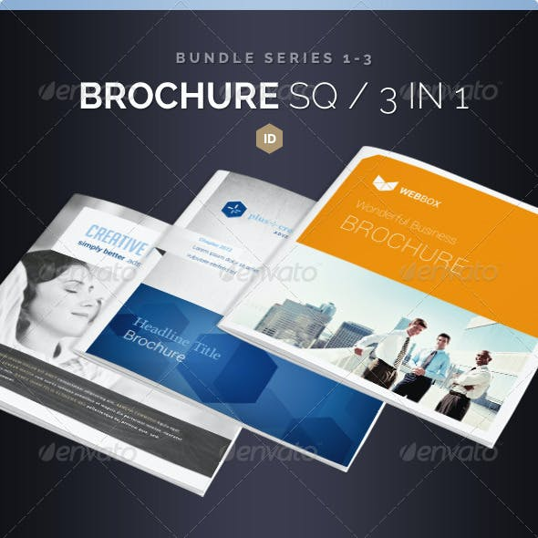 Brochure Bundle Square 20 Pages Series 1-3