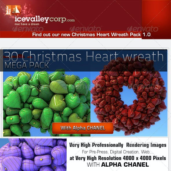 35 Christmas Wreath Balls Hires
