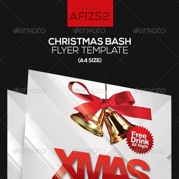 Christmas Bash Flyer