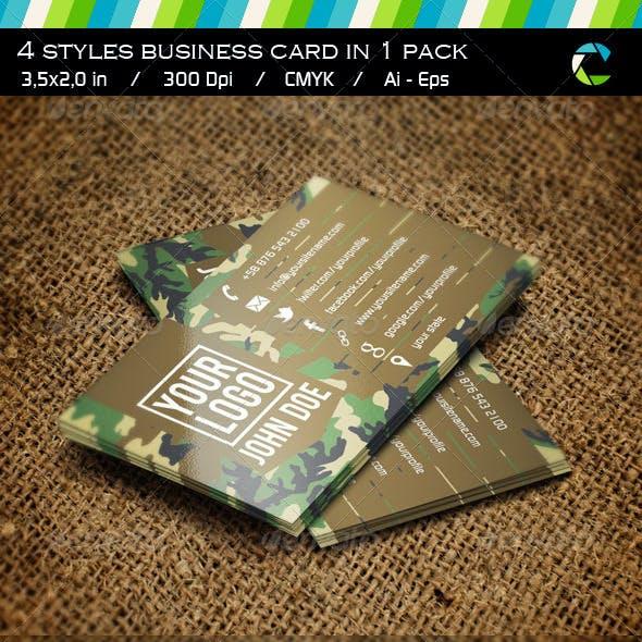 Camo Business Card