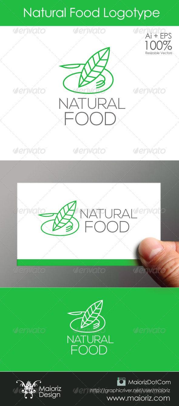 Natural Food Logo - Nature Logo Templates