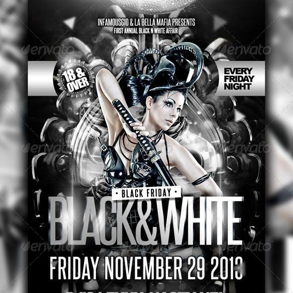 Black & White Event