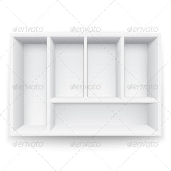 White Box with Separators.