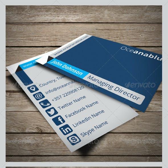 Oceanable Business Card