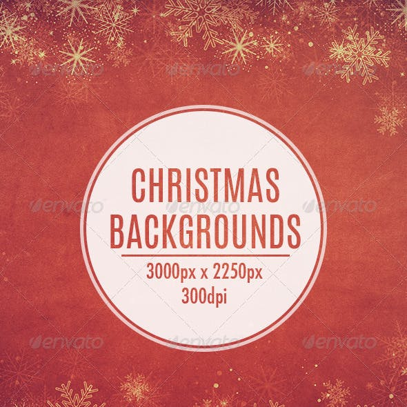 20 Christmas Backgrounds
