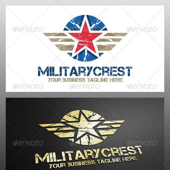 Military Crest Logo