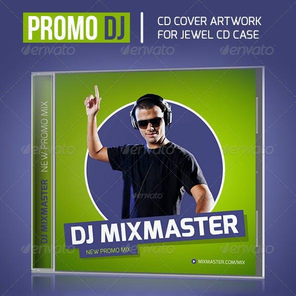 Promo DJ Mix CD Cover Artwork Template