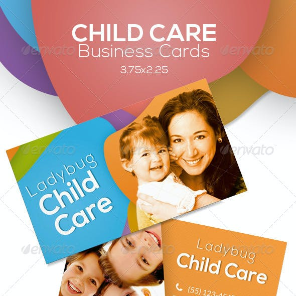Child Care Business Cards
