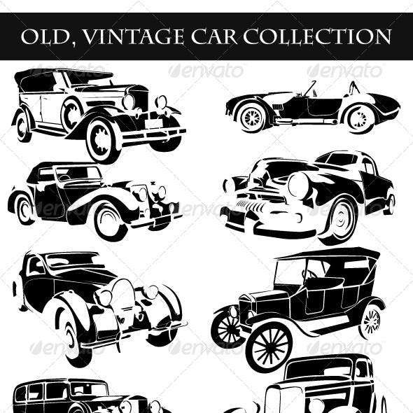 Old Vintage Cars Collection