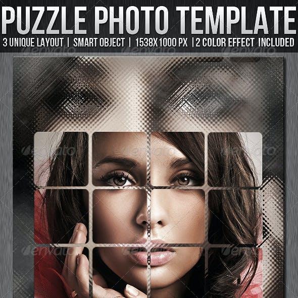 Puzzle Photo Templates