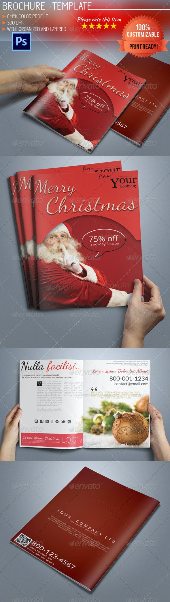 A5 Christmas Brochure - Corporate Brochures