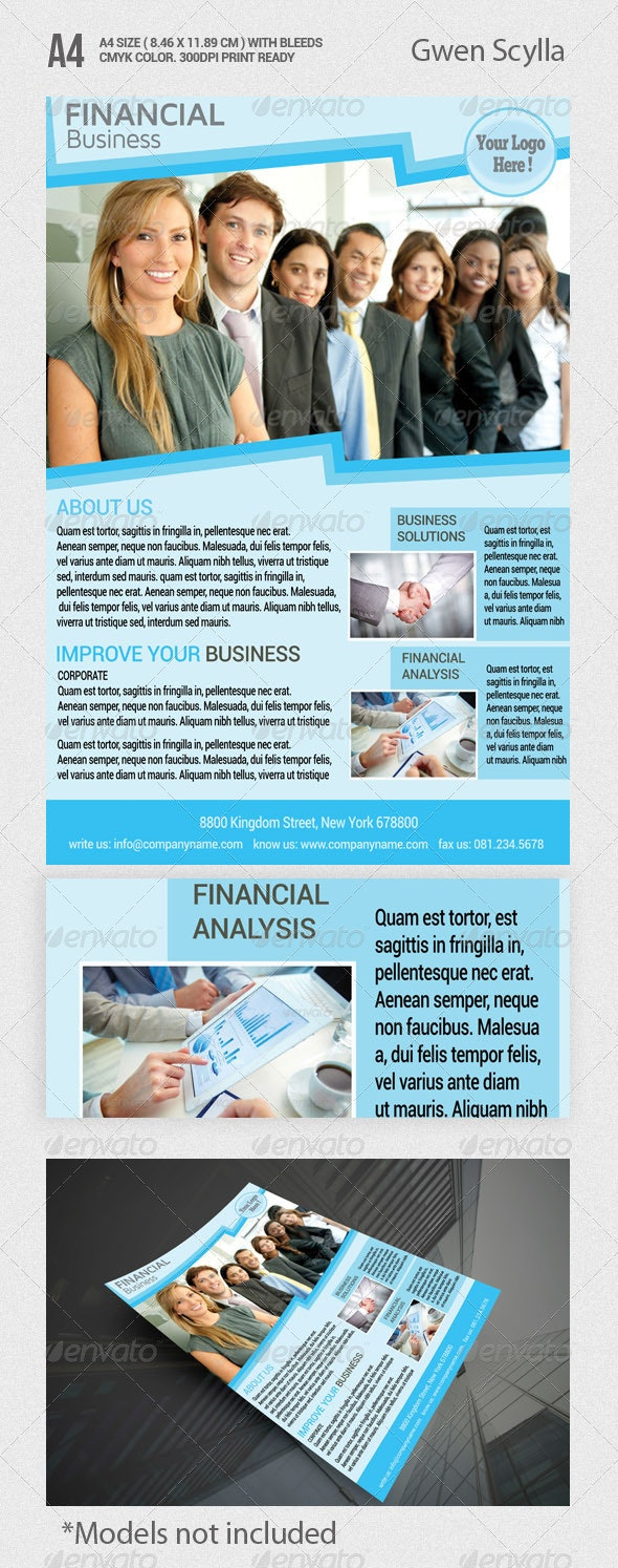 Financial Business Flyer Templates - Corporate Flyers