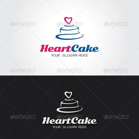 Heart Cake Logo