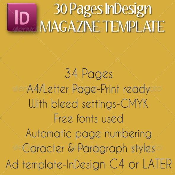 A4/Letter Magazine Template (Vol.2)