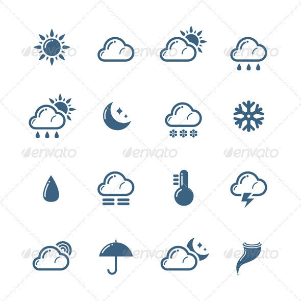 Weather Icons - Seasonal Icons