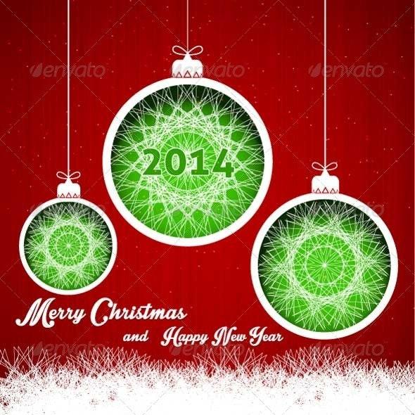 Merry Christmas Decoration Paper - Christmas Seasons/Holidays