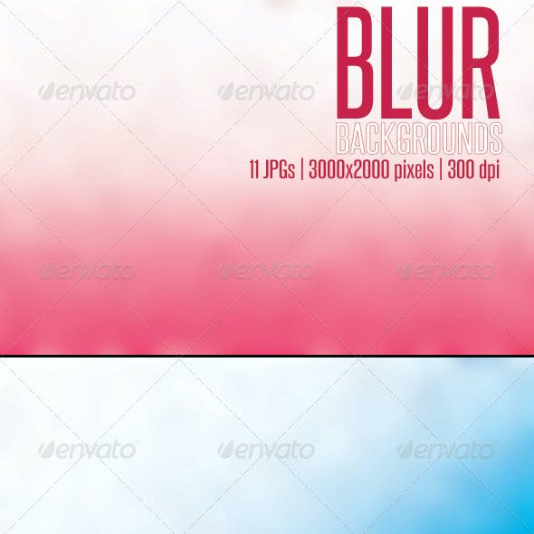 11 Blur Backgrounds