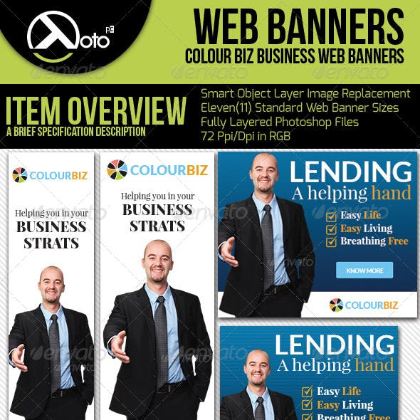 Business Consultation Web Banners