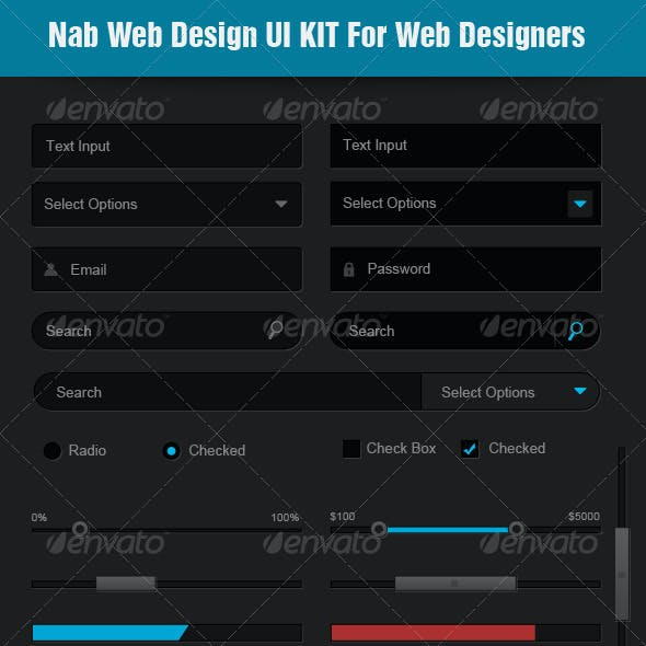 Nab Web Design Ui Kit for Designers