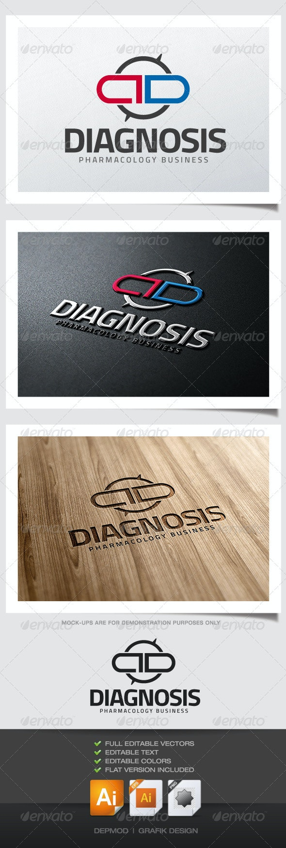 Diagnosis Logo - Symbols Logo Templates