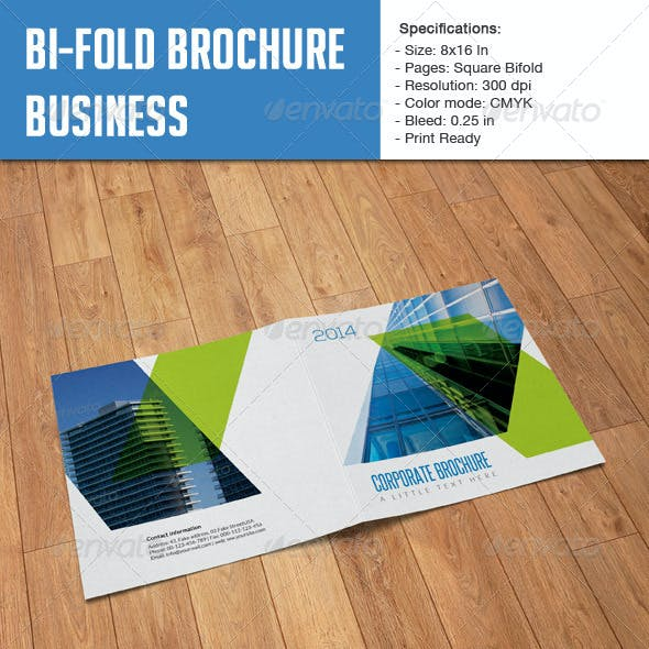 Square Bifold - Business