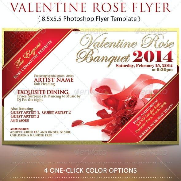 Valentine Rose Banquet