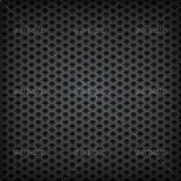 Volume Seamless Pattern. Vector Background.