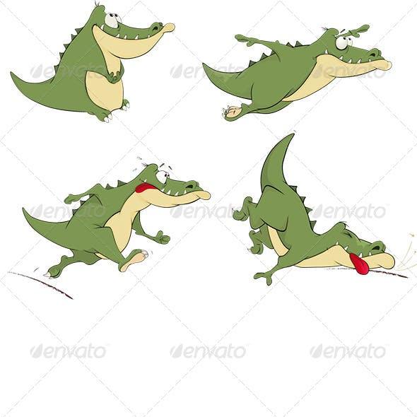 Crocodiles Clip Art