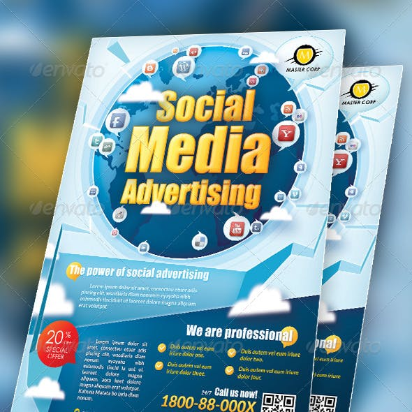 Modern Social Media Flyer / Magazine Ads