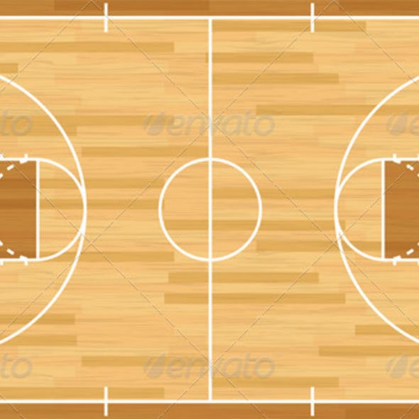 Basketball Court Graphics Designs Templates From Graphicriver