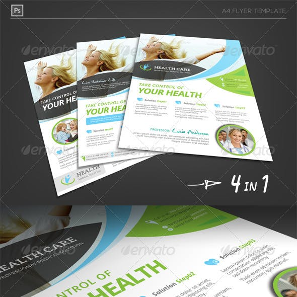 Health Care Solution Business Flyer