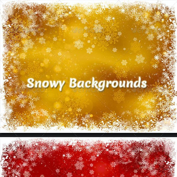 Snowy Backgrounds