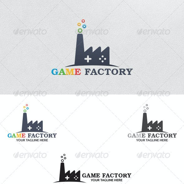 Game Factory - Logo Template