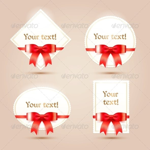 Christmas Paper Cards for your Design.