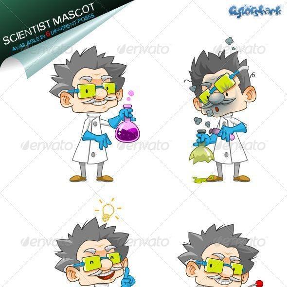 Scientist Mascot