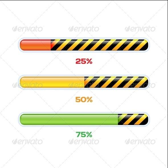 Progress Web Downloading Bar