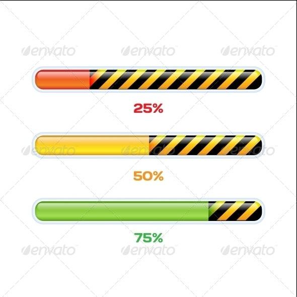 Progress Web Downloading Bar - Web Technology