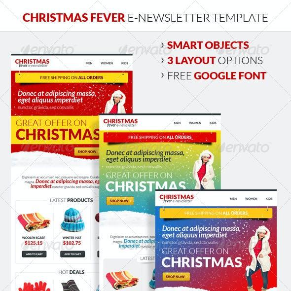 Christmas Fever E-Newsletter Template