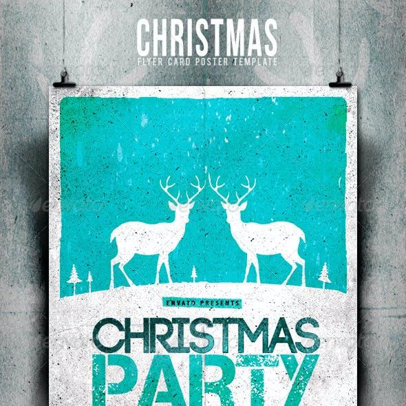 Christmas Flyer/Poster Retro Vol.6