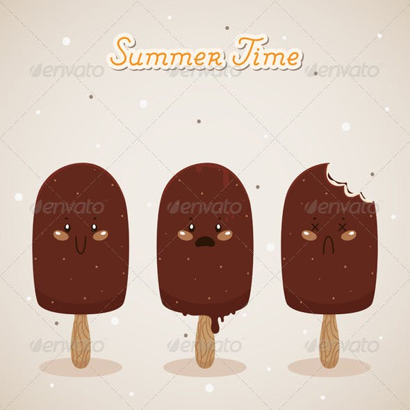 Summer with Ice Cream